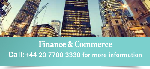 Courses in business finance and commerce