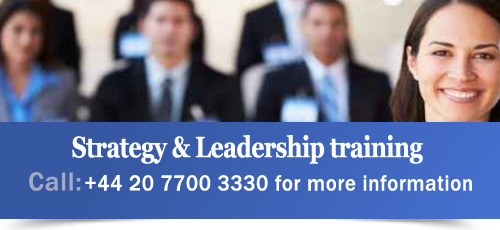 Strategy and Leadership training